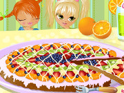 لعبة بيتزا الفواكة