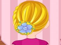 لعبة قصات شعر الربيع