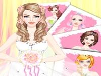 لعبة تصميم فستان الزفاف