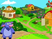 لعبة دورا ومغامراتها في المزرعة