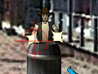 لعبة اكشن مسدسات الكاوبوي القوية