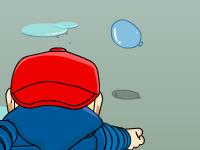 لعبة اكشن قنص بالونات الماء