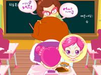 لعبة سو واكل الوجبة الخفيفة في الفصل